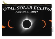 Total Solar Eclipse Stages Carry-all Pouch