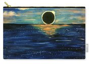 Totality On The Sea - Solar Eclipse  Carry-all Pouch