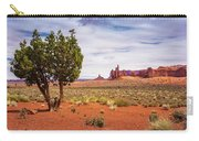 Totem Pole And Yei-bi-chei Carry-all Pouch