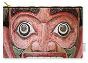Totem Pole Detail Carry-all Pouch