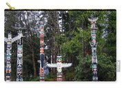 Totem Poles Carry-all Pouch