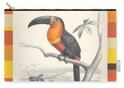 Toucan Bird Responsible Travel Art Carry-all Pouch