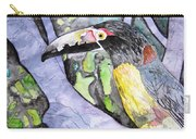 Toucan Bird Tropical Painting Fine Modern Art Print Carry-all Pouch