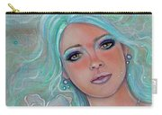 Touch Of Spring Mermaid Carry-all Pouch