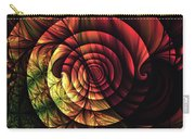 Touch Of Sunshine Abstract Carry-all Pouch
