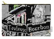Toulouse And Bourbon Carry-all Pouch