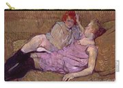 Toulouse Lautrec The Sofa Carry-all Pouch