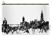 Toulouse Skyline-black Carry-all Pouch