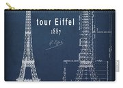 Tour Eiffel Engineering Blueprint Carry-all Pouch