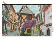 Touring In Eguisheim Carry-all Pouch