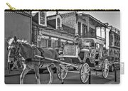 Touring The French Quarter Monochrome Carry-all Pouch