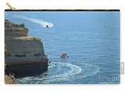 Tourist Boats And Cliffs In Algarve Carry-all Pouch