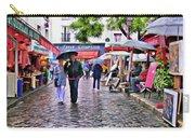Tourists - Paris - Place Du Tertre Carry-all Pouch