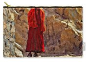 Towards Nirvana Impasto Carry-all Pouch