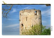 Tower At Chateau De Chinon Carry-all Pouch