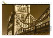 Tower Bridge In Sepia Carry-all Pouch
