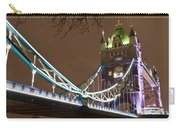 Tower Bridge Lights Carry-all Pouch