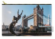 Tower Bridge, London, Uk Carry-all Pouch