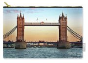 Tower Bridge- Sunset In London Carry-all Pouch