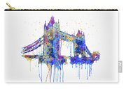 Tower Bridge Watercolor Carry-all Pouch