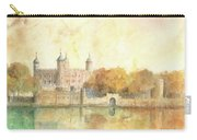 Tower Of London Watercolor Carry-all Pouch