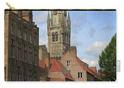 Tower Of The Belfrey From The Canal At Rozenhoedkaai Carry-all Pouch