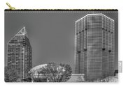 Tower Place Stripped Buckhead Atlanta Art Carry-all Pouch