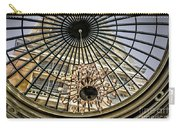 Tower Through Glass Dome In Bellagio Ceiling Carry-all Pouch