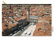 Tower View Of Piazza Delle Erbe In Verona Italy Carry-all Pouch