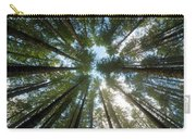 Towering Fir Trees In Oregon Forest State Park Carry-all Pouch