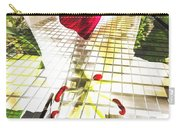 Towering Lily And Rose Carry-all Pouch
