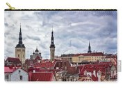 Towers Of The Tallinn Old Town Carry-all Pouch