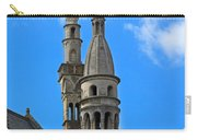 Towers Of The Town Hall In Bruges Belgium Carry-all Pouch