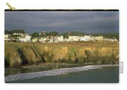 Town At The Seaside, Mendocino Carry-all Pouch