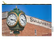 Town Clock Lincoln Nebraska Carry-all Pouch