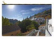 Town In A Valley, Sacromonte, Granada Carry-all Pouch