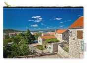 Town Of Betina Architecture And Coast Carry-all Pouch