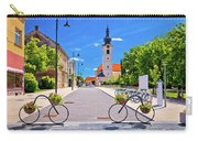Town Of Bicycles Koprivnica Street View Carry-all Pouch