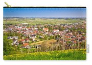 Town Of Ivanec Aerial Springtime View Carry-all Pouch