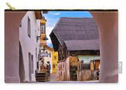 Town Of Kastelruth In Alps Street View Carry-all Pouch