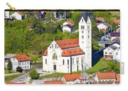 Town Of Krapina Church Vertical View Carry-all Pouch
