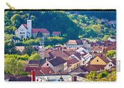 Town Of Krapina Rooftops View Carry-all Pouch