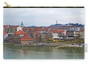 Town Of Maribor Riverfront Panoramic  Carry-all Pouch