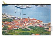 Town Of Seget Aerial View Carry-all Pouch