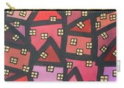 Town Of The Rising Sun Carry-all Pouch by Jutta Maria Pusl
