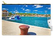 Town Of Tisno Harbor And Waterfront Carry-all Pouch