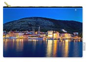 Town Of Vis Waterfront Evening Panorama Carry-all Pouch