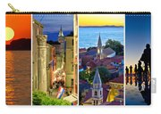 Town Of Zadar Evening And Sunset Travel Collage Carry-all Pouch