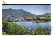 Town Square By The Pond At Waterville Valley Carry-all Pouch