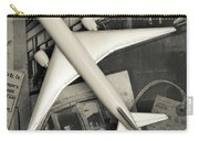 Toy Airplane Vintage Travel Carry-all Pouch